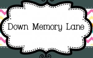 Down Memory Lane Coupons