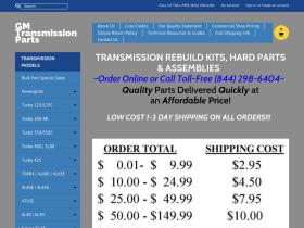 gmtransmissionparts Coupons