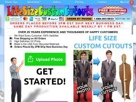 lifesizecustomcutouts Coupons
