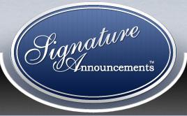 Signature Announcements Promo Codes